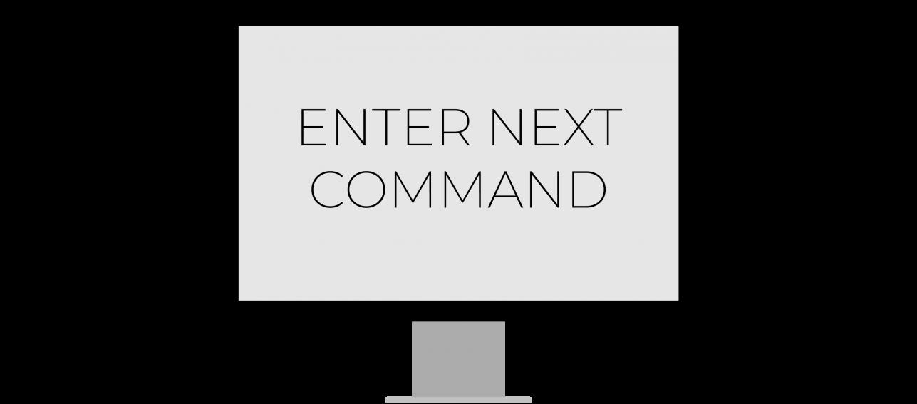 Enter Next Command