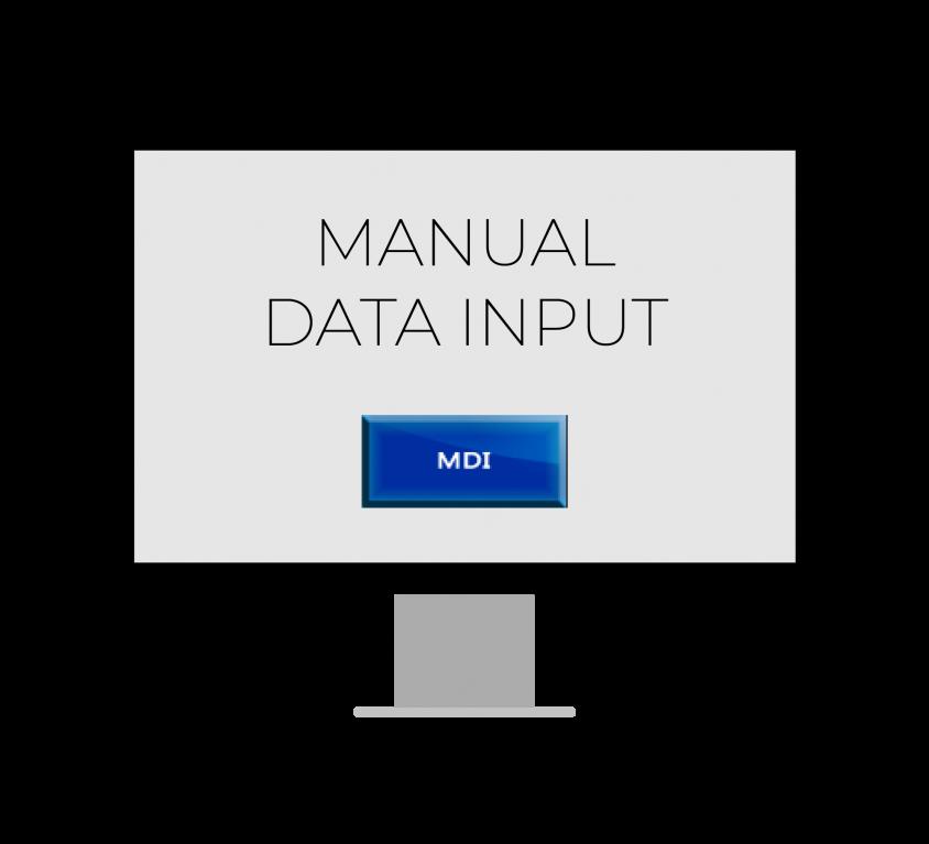 Manual Data Input