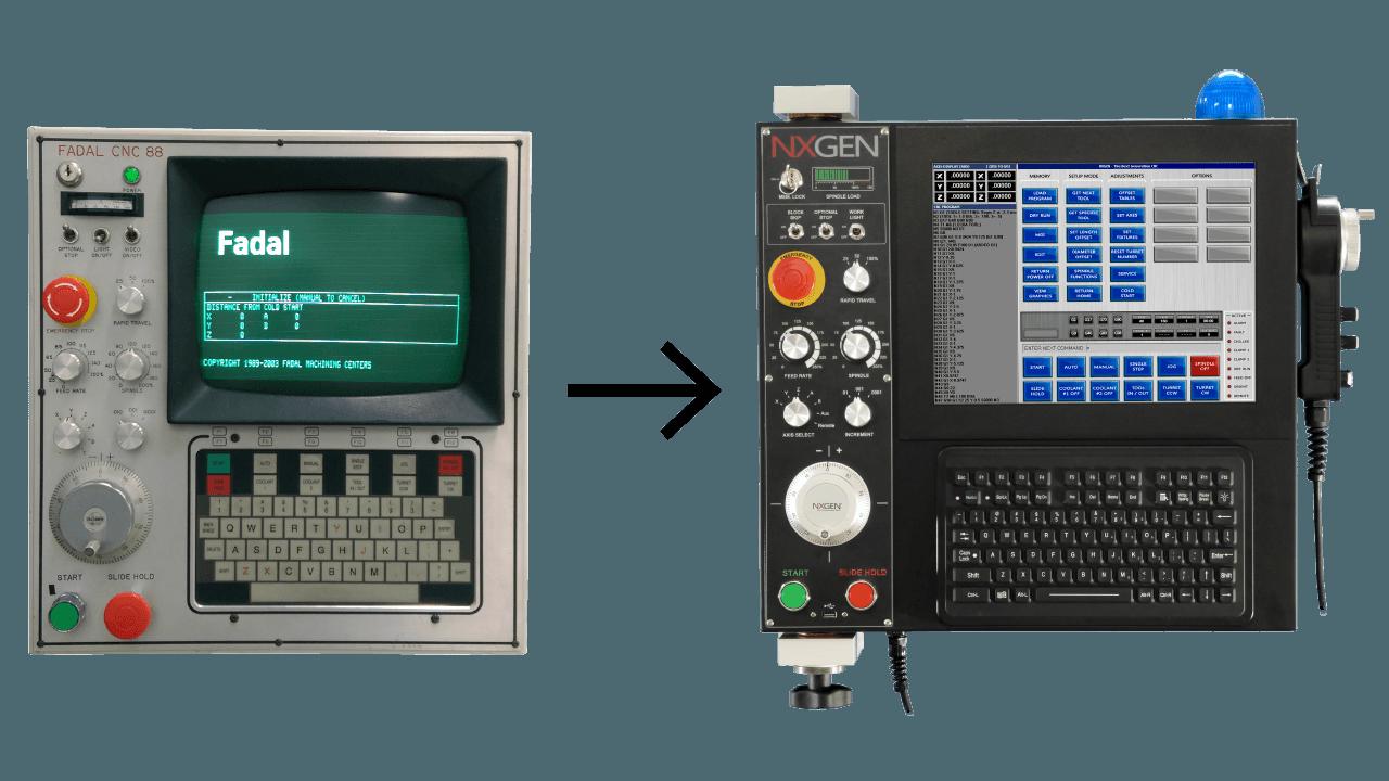 NXGEN Fadal Control Upgrade on